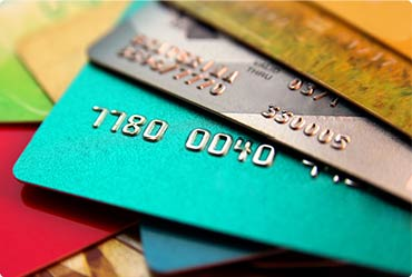 credit and debit card image